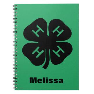 Symbol: 4-H Club Notebooks