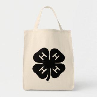 Symbol: 4-H Club Grocery Tote Bag