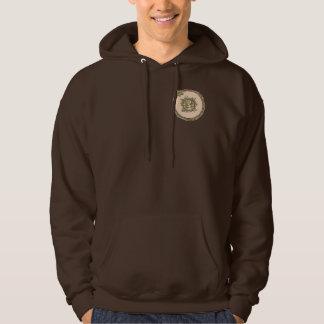 Symbol 9 Mandala Hooded Sweat Shirt