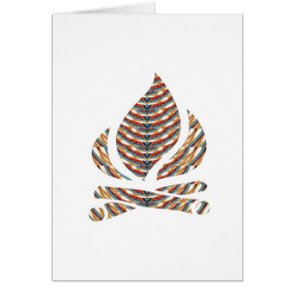SYMBOL ART Fire FLAME Energy Action LOWPRICE STOR Greeting Card