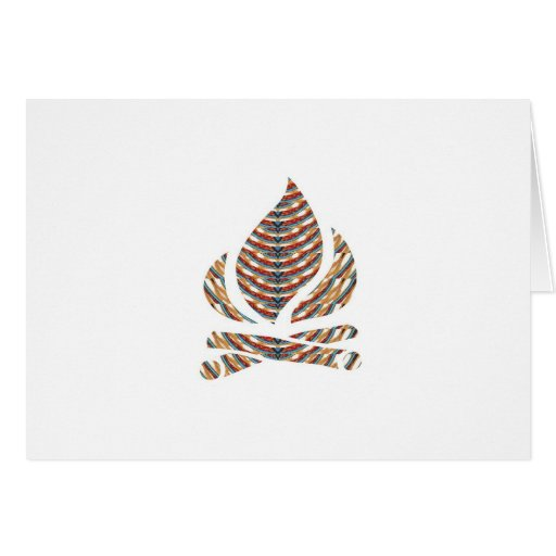 SYMBOL ART: Fire FLAME Energy Action LOWPRICE STOR Greeting Cards