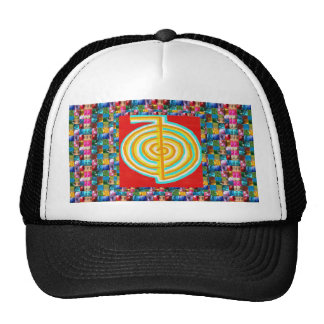 SYMBOL ART : GEM PEARL JEWEL STUDDED SHOW MESH HATS