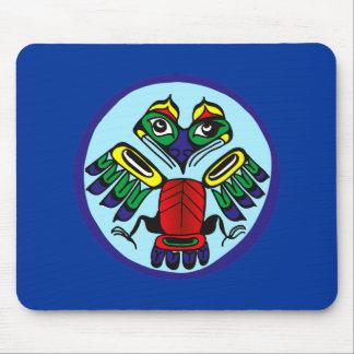 Symbol bird Indian bird native American Mousepad