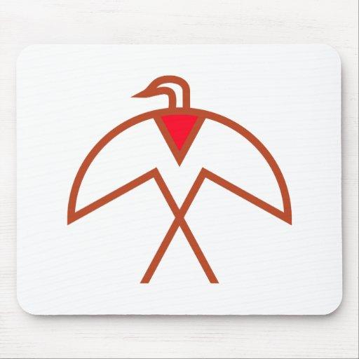 Symbol bird Indian bird native American Mouse Pads