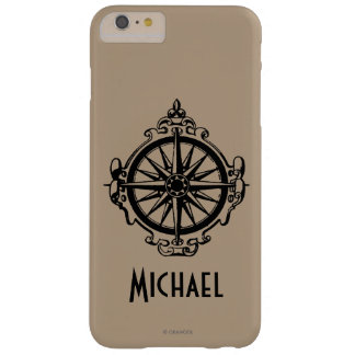 Symbol: Compass Barely There iPhone 6 Plus Case