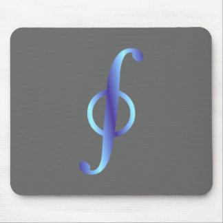 Symbol curve integral path integral mouse mat