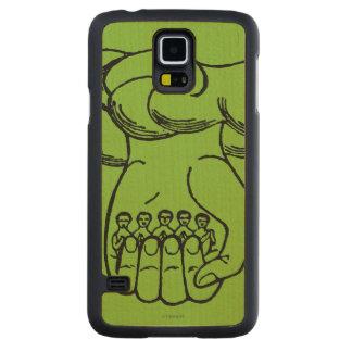 Symbol: Divine Hand Carved Maple Galaxy S5 Case