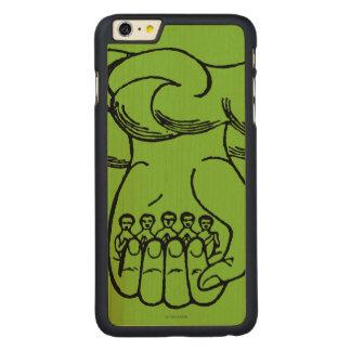 Symbol: Divine Hand Carved Maple iPhone 6 Plus Case