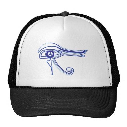 Symbol eye Horus eye Mesh Hats