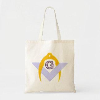 Symbol freemason freemasons canvas bag