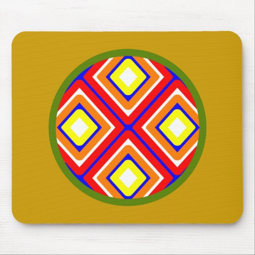 Symbol Indian native American Mouse Pad