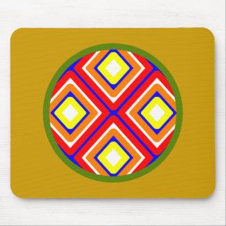 Symbol Indianer Native American Mauspad