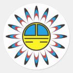 Symbol Indianer Sticker