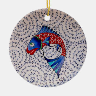 Symbol of Fortune Good Luck Koi Fish Christmas Ornament