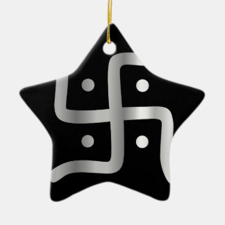 Symbol of Jainism religion Christmas Ornament