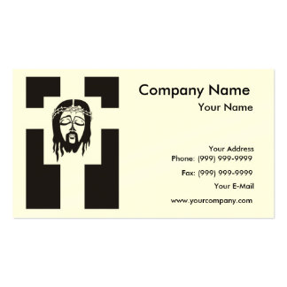 Symbol of Jesus Christ Crucifixion. Business Cards
