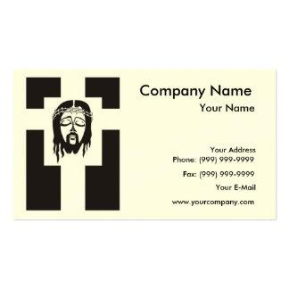 Symbol of Jesus Christ Crucifixion. Business Cards