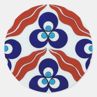 Symbol of Power / Chin-teh-ma-nee Classic Round Sticker