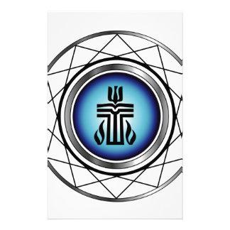 Symbol of Presbyterian religion Stationery Paper