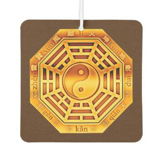 Symbol PaKua / yin & yang / I Ging GOLD