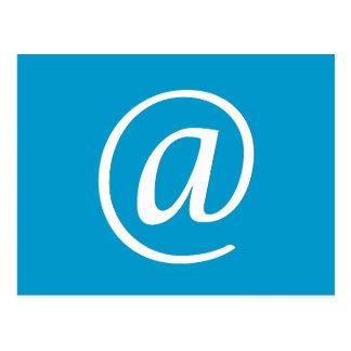 @ Symbol Postcard - Blue