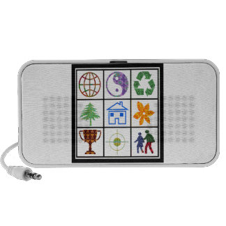 SYMBOL shapes TEMPLATE Resellers Welcome GIFTS Laptop Speaker