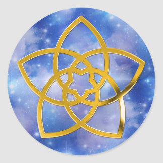 Symbol Venus Flower GOLD heaven Stickers