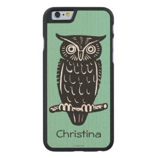 Symbol: Wisdom Carved Maple iPhone 6 Case