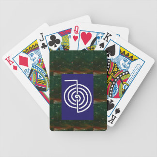 Symbolic Art : Reiki Chokurai Bicycle Playing Cards