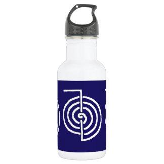 Symbolic Art : Reiki Chokurai 18oz Water Bottle
