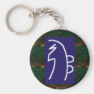 Symbolic ART : Reiki Chokurai Sayhaykey Basic Round Button Key Ring