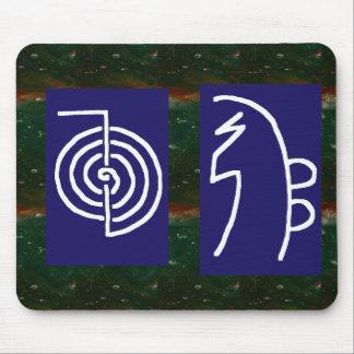 Symbolic ART : Reiki Chokurai Sayhaykey Mouse Pad