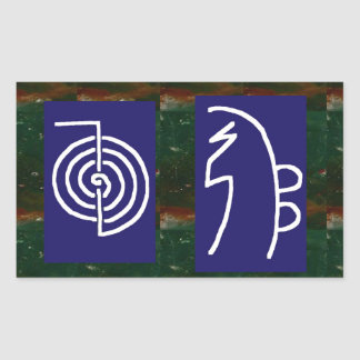 Symbolic ART : Reiki Chokurai Sayhaykey Rectangular Sticker