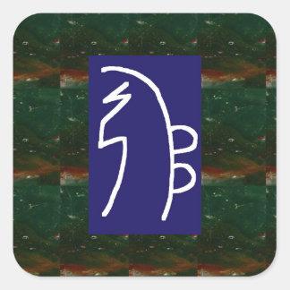 Symbolic ART : Reiki Chokurai Sayhaykey Square Sticker