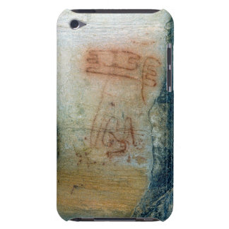 Symbolic figures (cave painting) iPod touch case