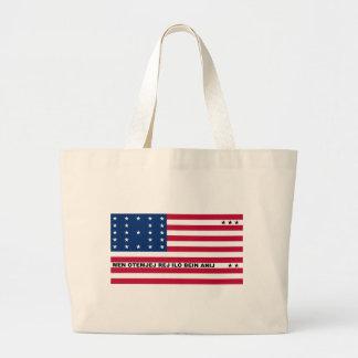 Symbolic Flag of Bikini Atoll Marshall Islanders Tote Bags