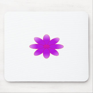 Symbolic Flower Mouse Pad