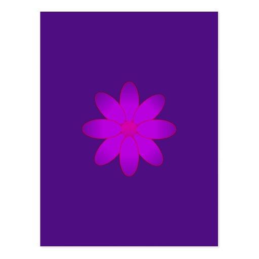 Symbolic Flower Postcards
