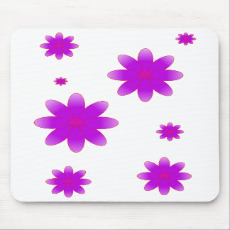 Symbolic Flowers Mousepads