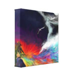 Symbolic Flows - Colours of the Imagination Stretched Canvas Print