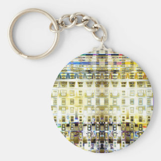 Symbolic Prophecy Basic Round Button Key Ring