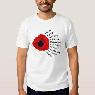 Symbolism Remembrance Day T-Shirts