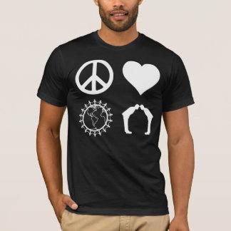 Symbology of PLUR (Dark Shirt) T-Shirt