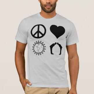 Symbology of PLUR (Light Shirt) T-Shirt