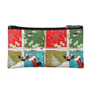 Symbols of Christmas Cosmetic Bag