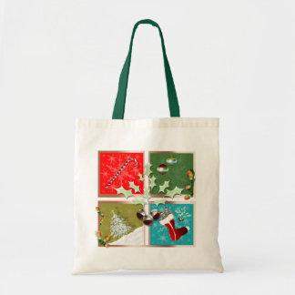 Symbols of Christmas Tote Bag