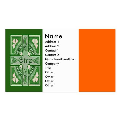 Symbols of ireland business card zazzle for Business card symbols