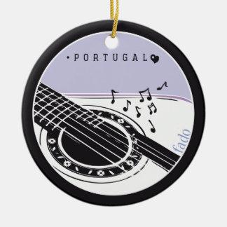 Symbols of Portugal - FADO Christmas Ornament