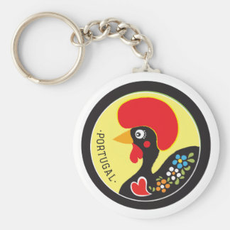 Symbols of Portugal - Galo de Barcelos Key Ring