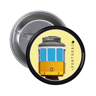 Symbols of Portugal - Lisbon Tramway Button